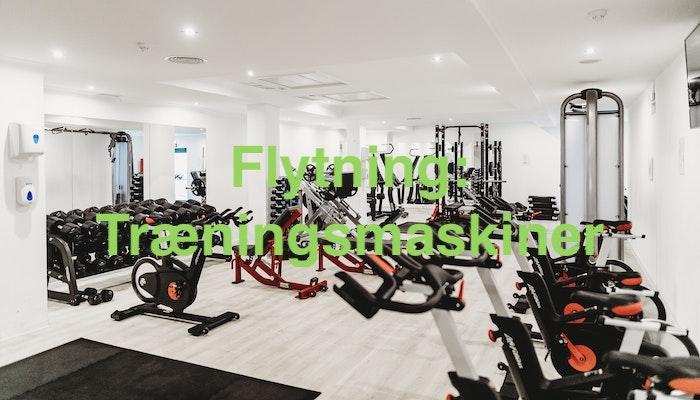 Flytning af store træningsmaskiner